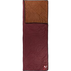 Grüezi-Bag WellhealthBlanket Wool Home, rosso/marrone